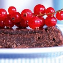 Lyxig chokladtårta
