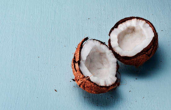 Kokosnötter, kokosfett