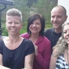 Pernilla Lantz, jag, Peter och Lena Winther