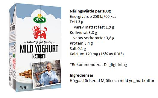 naturell yoghurt nyttigt
