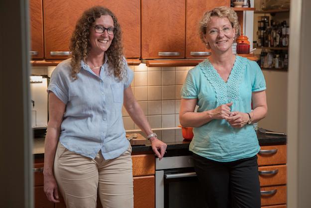Cia och Peppe har startat en nätbutik med svenskt, närproducerat kött. Foto: Daniel Karlsson (www.danielkstudio.com)