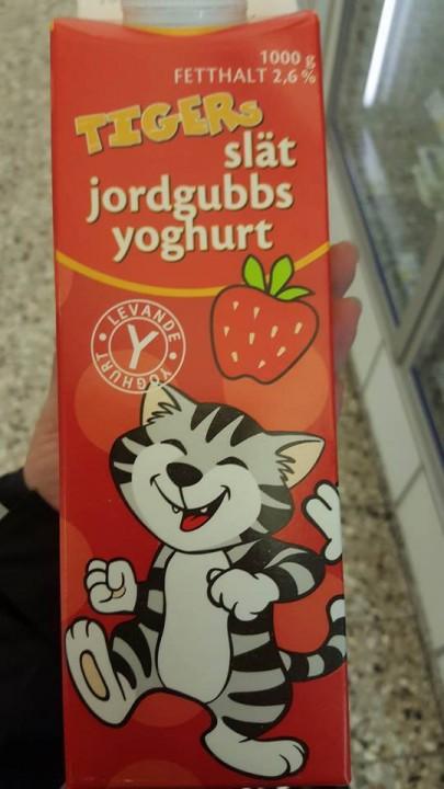 Tiger yoghurt