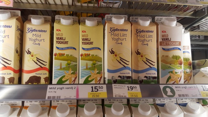 yoghurt 8,5