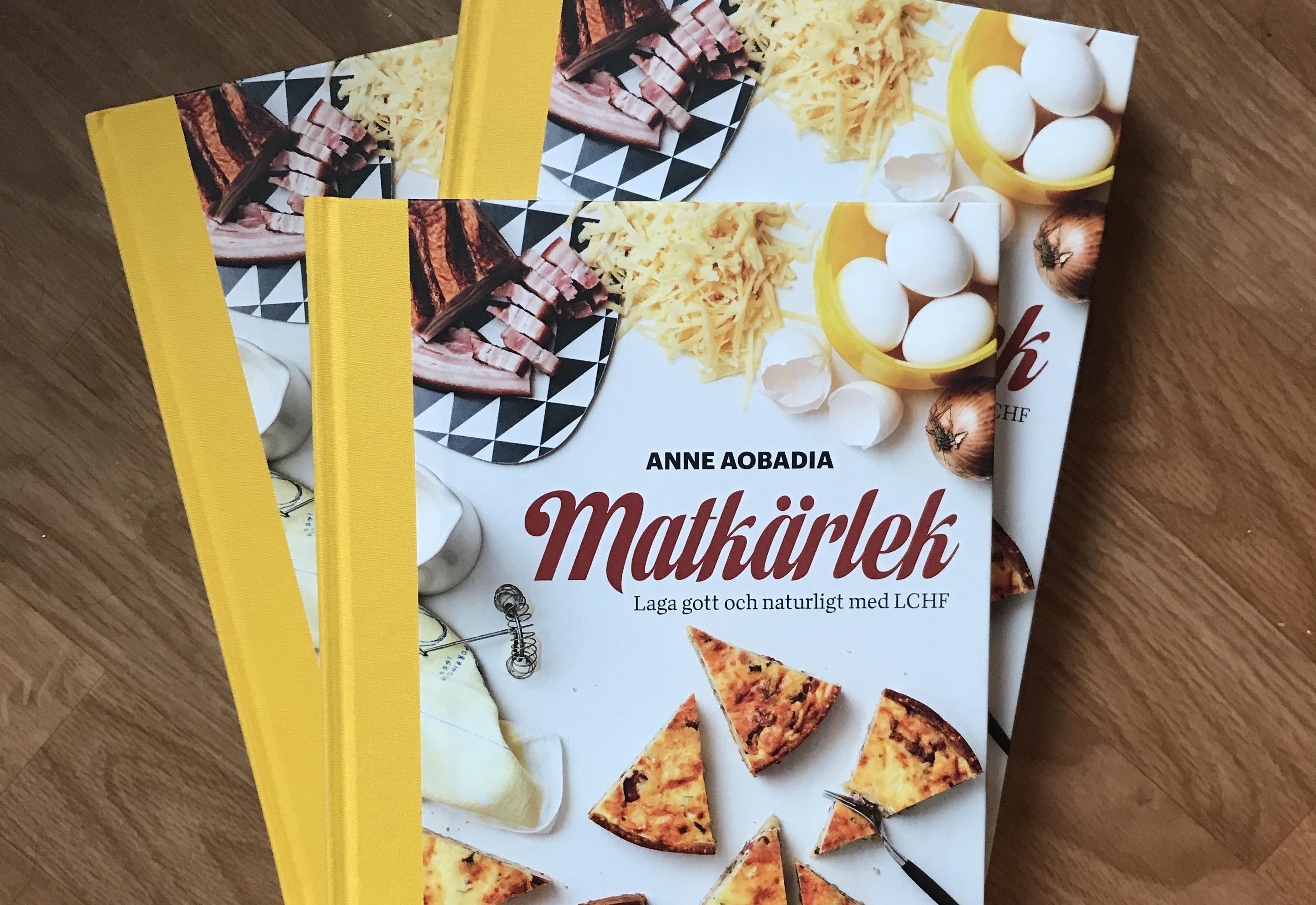 Igår skickades sista exemplaret av Matkärlek till Anita Gradin.