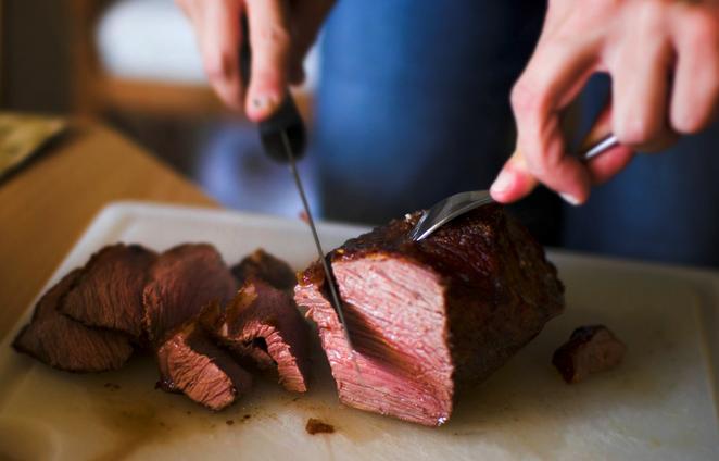 Kött steak