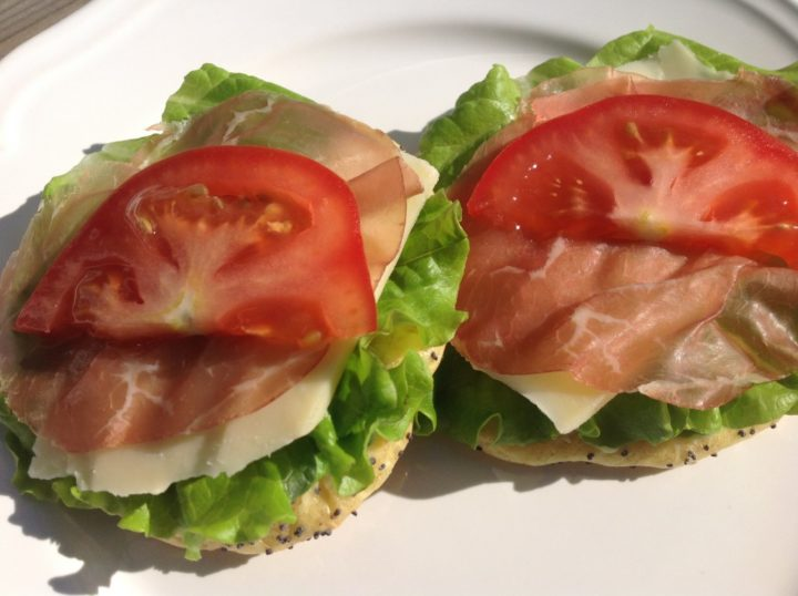 Mozzarella smörgås