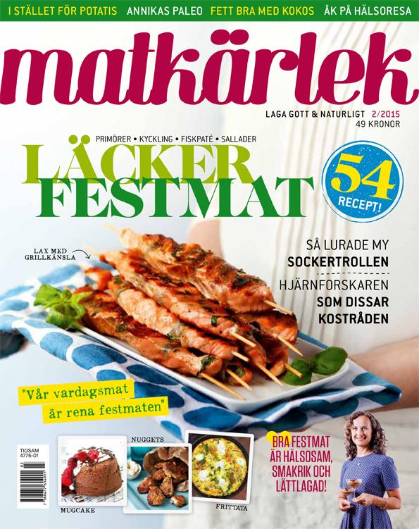 Läcker festmat 2015/2